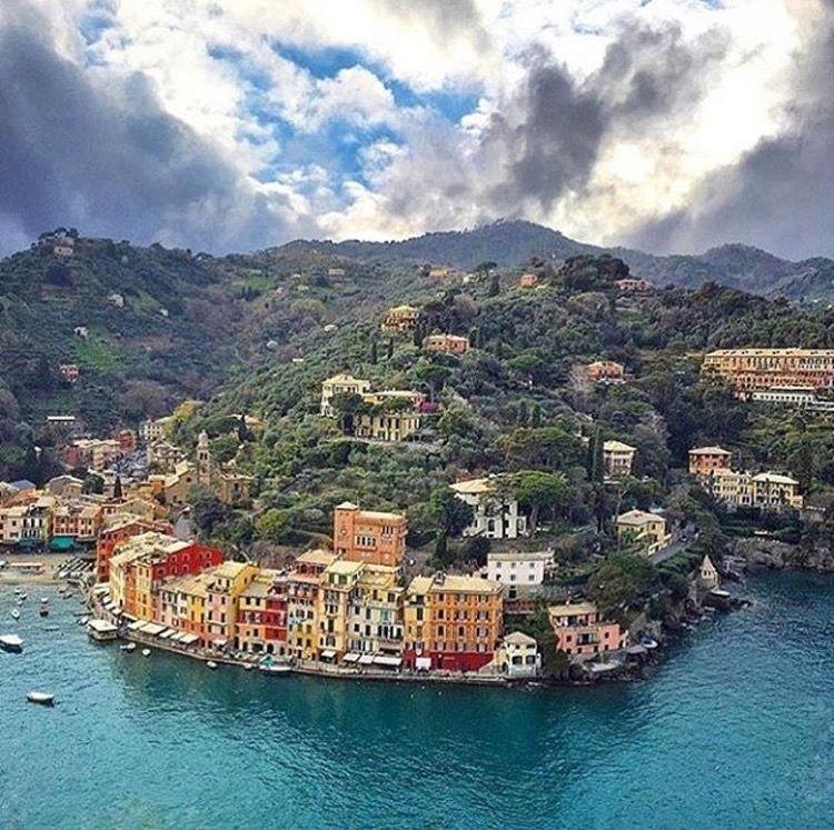 Portofino Gênova, Ligúria, Itália Paesaggi