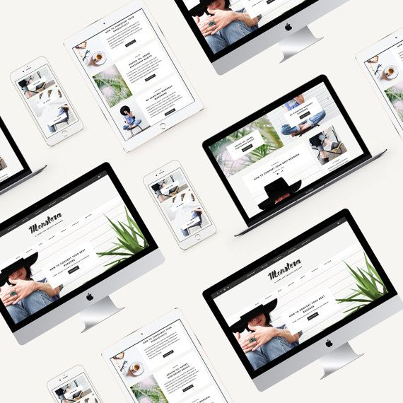 Responsive Wordpress Theme | Parker | Blog and eCommerce Design ...