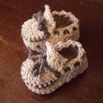 Baby Moccasins Crochet Pattern PDF - Holland Designs Crochet ...