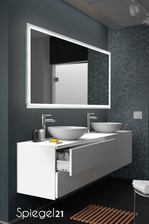 Led Badspiegel New York Mit Beleuchtung Badspiegel Bad Spiegel Beleuchtung Badspiegel Led
