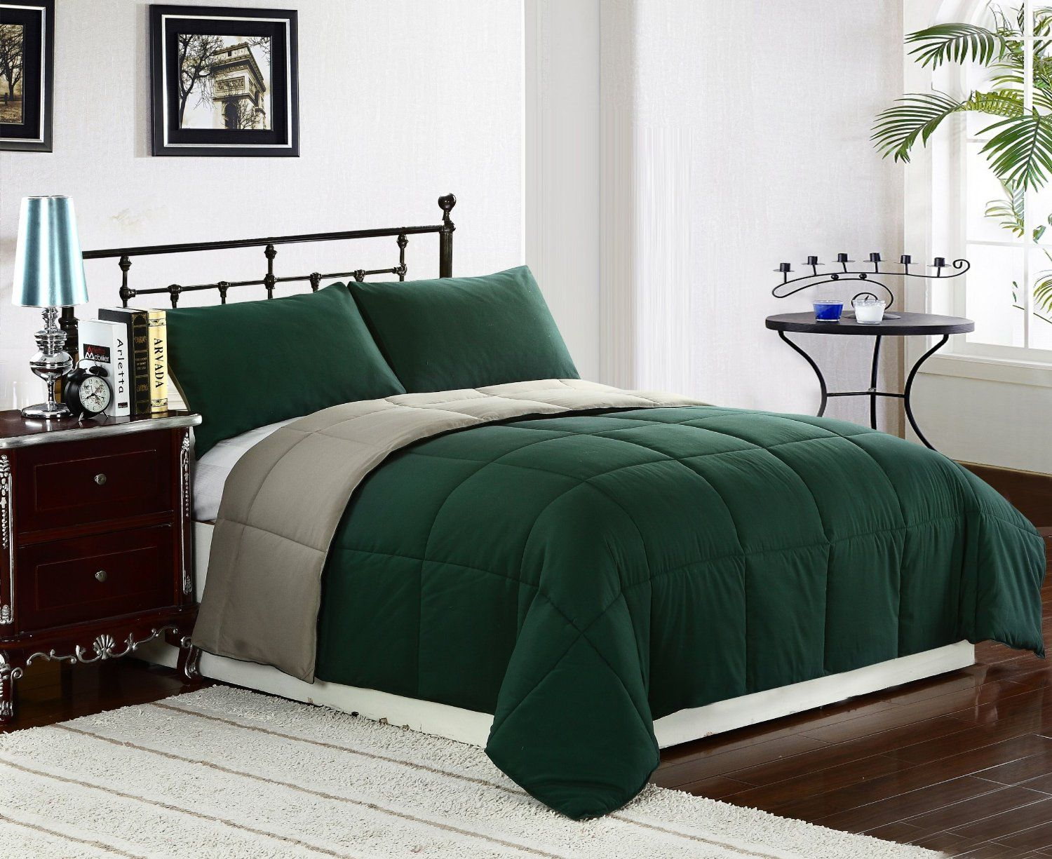 Sage Olive And Hunter Green Bedroom Decorating Ideas Green