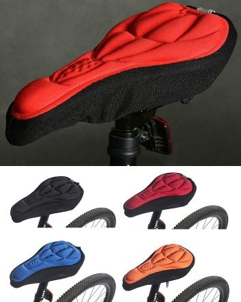 Check out this amazing deal: $15 for a RockBros Gel Bicycle Seat Saddle Cover - Available in 4 Colours!