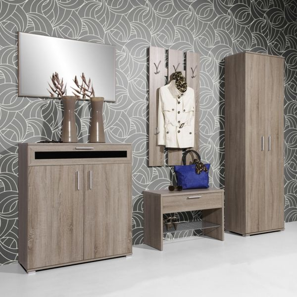 dielenschrank gestaltungsideen f r den flur flurgestaltung. Black Bedroom Furniture Sets. Home Design Ideas