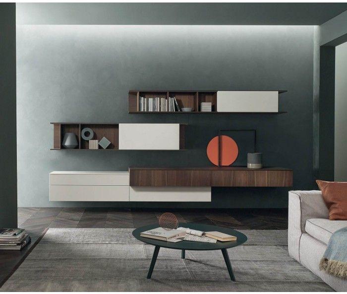Marvelous Exklusive Design Wohnwand C von Livitalia aus Italien Wohnwand Wohnzimmer TVBoard