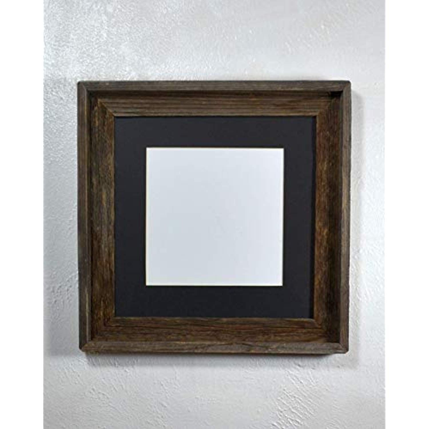 12x12 Picture Frame With 8x8 Black Mat And Glass Rustic Reclaimed Wood Click Image To Review More Details This Is Rustic Reclaimed Wood Frame Photo Frame