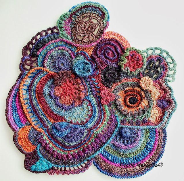 Aventures Textiles: Scrumble géant | ganchillo | Pinterest ...