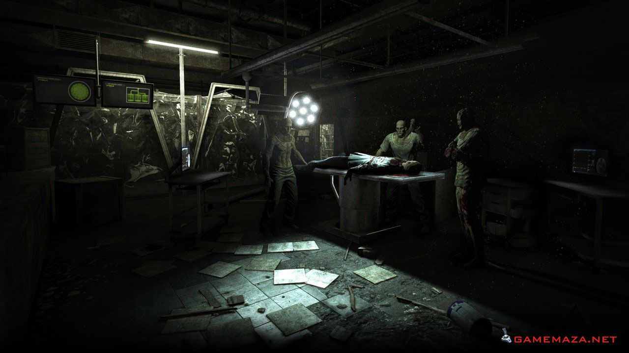 Outlast Gameplay Screenshot 1 | Games to Download Free | Horror