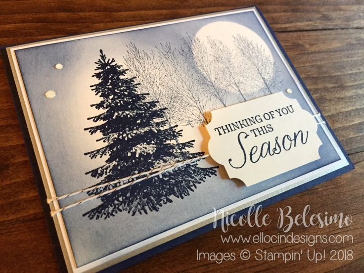 Ellocin Designs | Nicolle Belesimo, Independent Stampin' Up