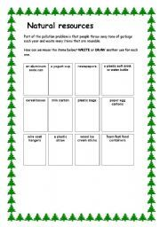 Natural Resources Worksheets 2nd Grade | worksheets comprehension ...