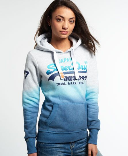 innovative design 7bb9f 2ec52 ice marl/fluro aqua | Clothes in 2019 | Hoodies, Superdry ...