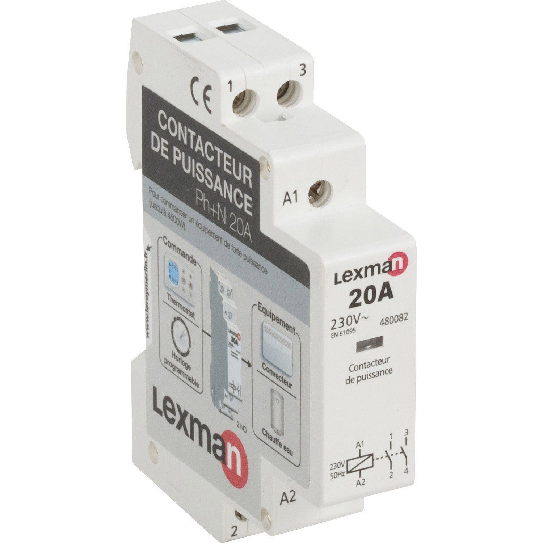 Contacteur Lexman 230 V 20 A Products En 2019