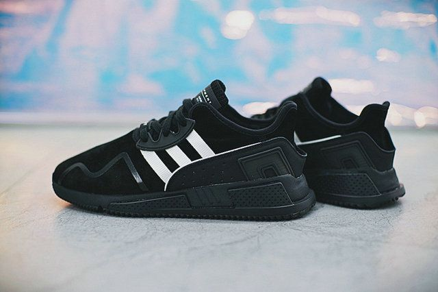 Adidas EQT Cushion ADV Black White Cc5705 New Shoe  e2f21f083