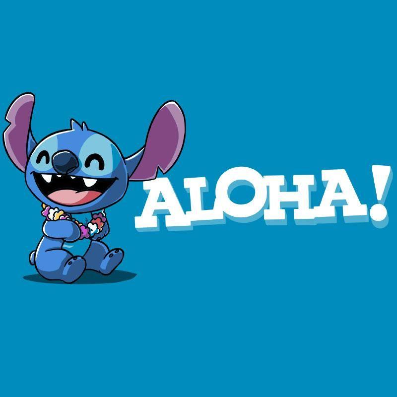 906963be Aloha Stitch - T-Shirt / Mens / S   Stitch   Arte de pared, Arte