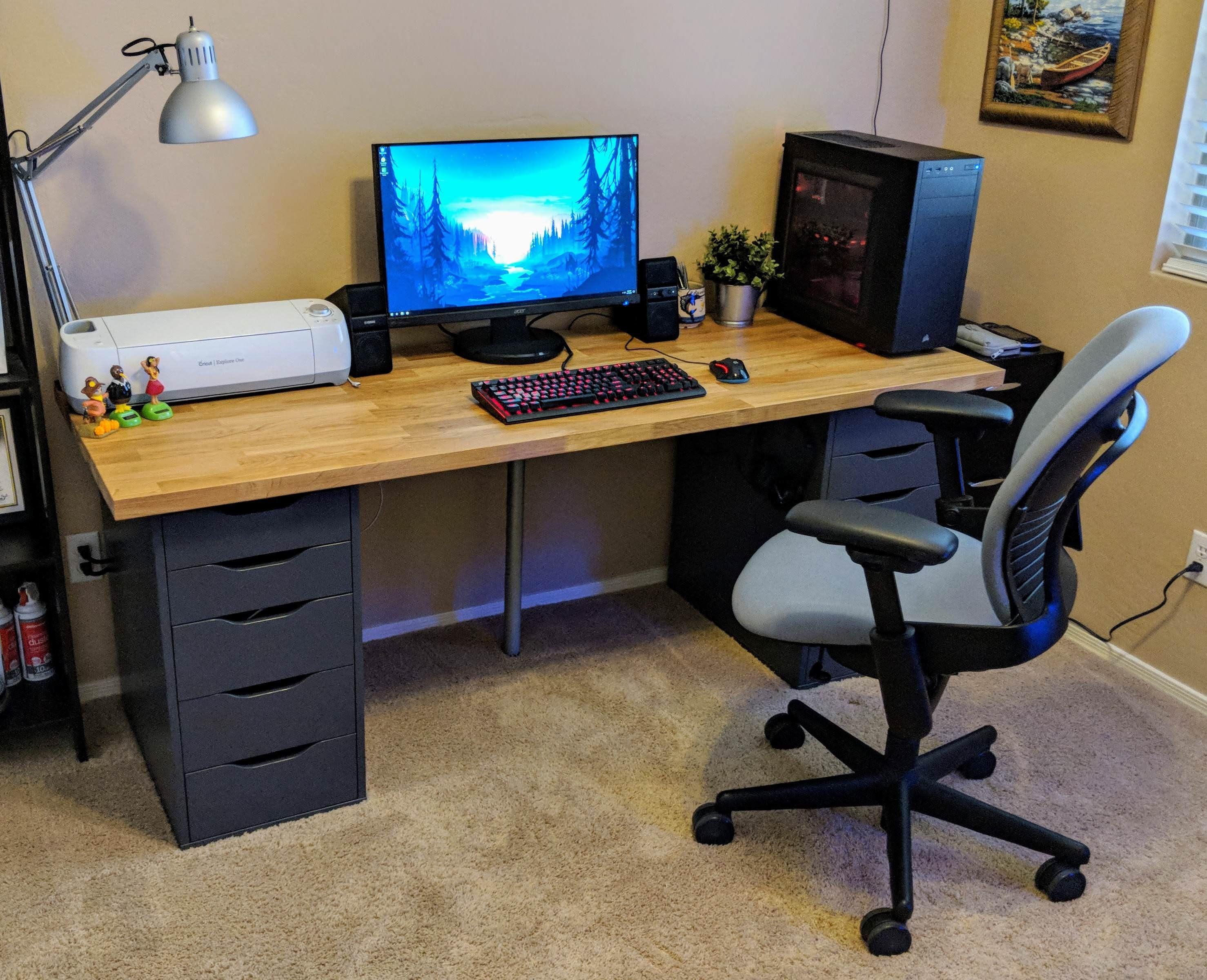 Ikea Battlestation All Finished Battlestations Home Office