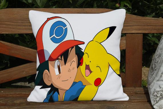 Hey, I found this really awesome Etsy listing at https://www.etsy.com/listing/197249277/pikachu-and-ash-pillow-cover-case-one
