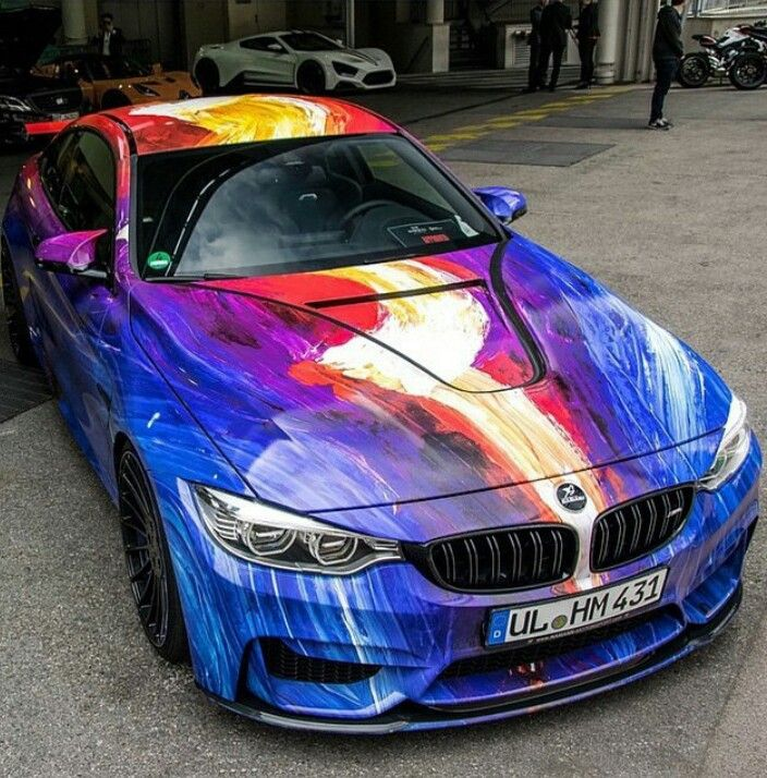 BMW M 4.....! Yes, And Thank You For The Flash Paint! COLOUR Finally,  Instead Of Black And White..........and GREY!