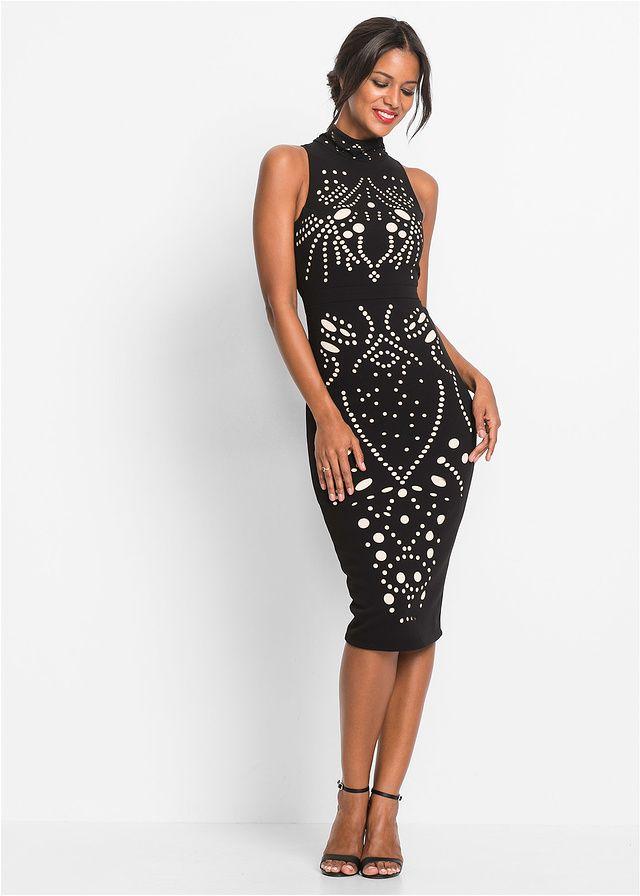 Sukienka Z Azurowym Wzorem Sukienka Sukienkanawesele Czarnasukienka Sukienkanasylwestra Fashion Moda Dress Blac Fashion Outfits Fashion Bodycon Dress
