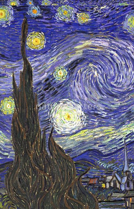 Vincent Van Gogh Starry Night By Naturematters Starry Night Van Gogh Van Gogh Wallpaper Starry Night Wallpaper Iphone wallpaper van gogh