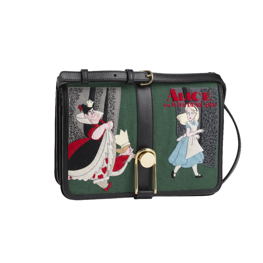 This Olympia Le-Tan x Disney Collection is Lily James Approved