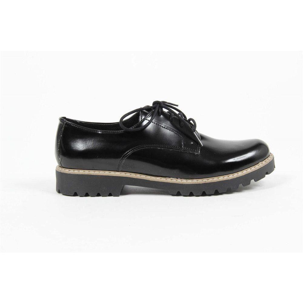 Black 40 IT - 10 US Versace 19.69 Abbigliamento Sportivo Srl Milano Italia Womens Oxford Shoe MARGIE 2 ABRAS. NERO