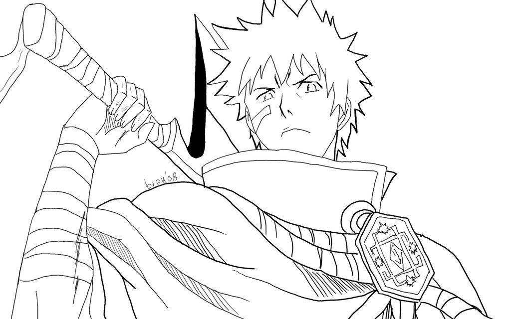 bleach coloring pages # 0