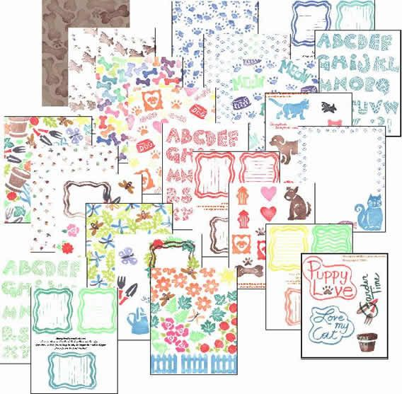 Scrapbook Graphics Clip Art Petsdogscats Gardening For You To
