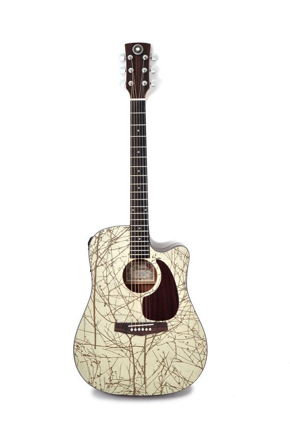 Acoustic Electric Guitar Modified One For By Artfulmusicianprtlnd 425 00 Guitar All Music Instruments Cool Guitar