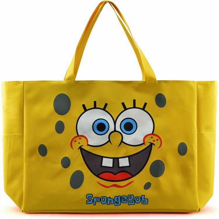 Canvas shopping bags women waterproof extra large beach bag tote shopping-bag lovely Hello Kitty overlarge handbags