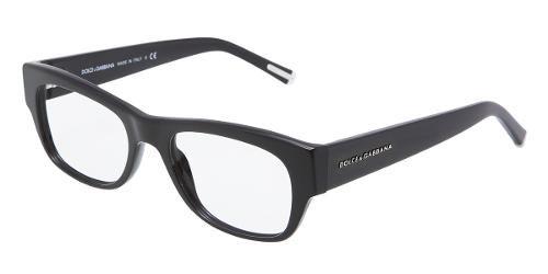 Dolce & Gabbana   Eyewear: modelo 3112 - Colección de gafas de vista de hombre. Montura de plástico cuadrada negra.