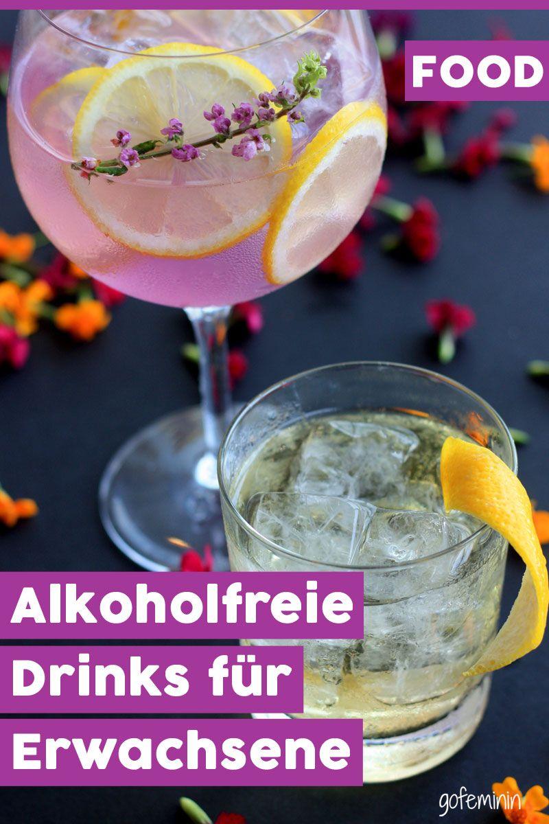 Stilvoll ohne - Alkoholfreie Getränke für Erwachsene