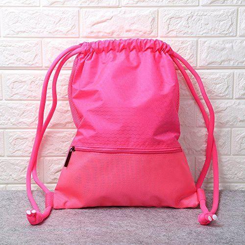 47eb72a5ad08 Esvan proof Gymbag Large Drawstring Backpack Gymsack Sackpack For ...