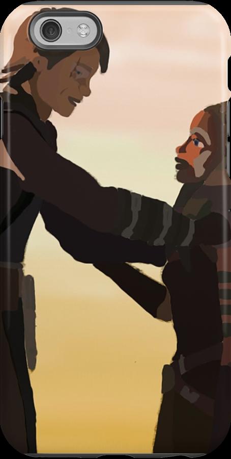 Anakin and Ahsoka by BellaAlderton I want this