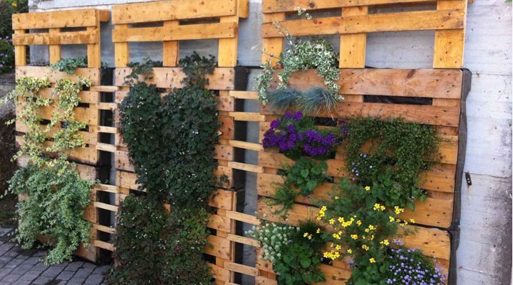 Palets para decorar paredes t o d o p a l l e t s pinterest - Decorar terrazas reciclando ...