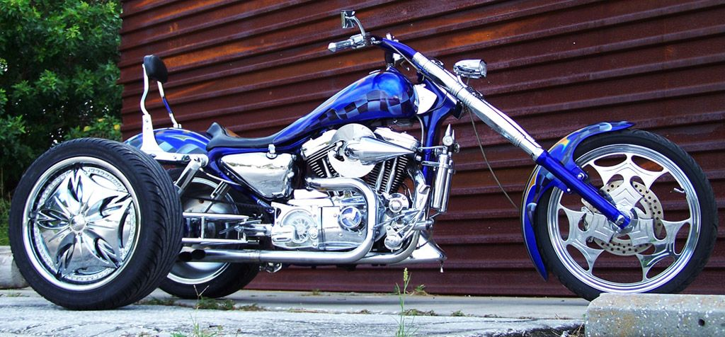 Custom trikes and custom motorcycles converted to trikes honoring with the trike conversion kit for customs you can build trikes like solutioingenieria Choice Image