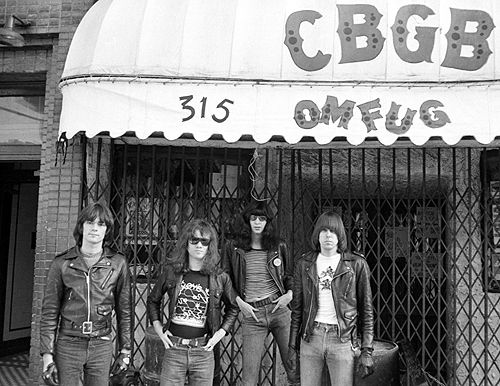 The Ramones photographed by Danny Fields