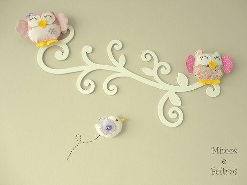 Passarinhos e Corujinhas... | Mimos e Feltros | Flickr