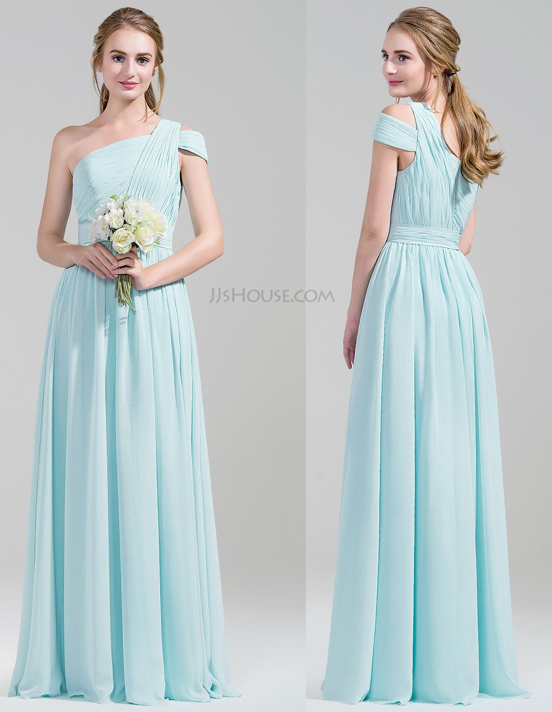 Special shoulder design of this bridesmaid dress. #jjshouse ...