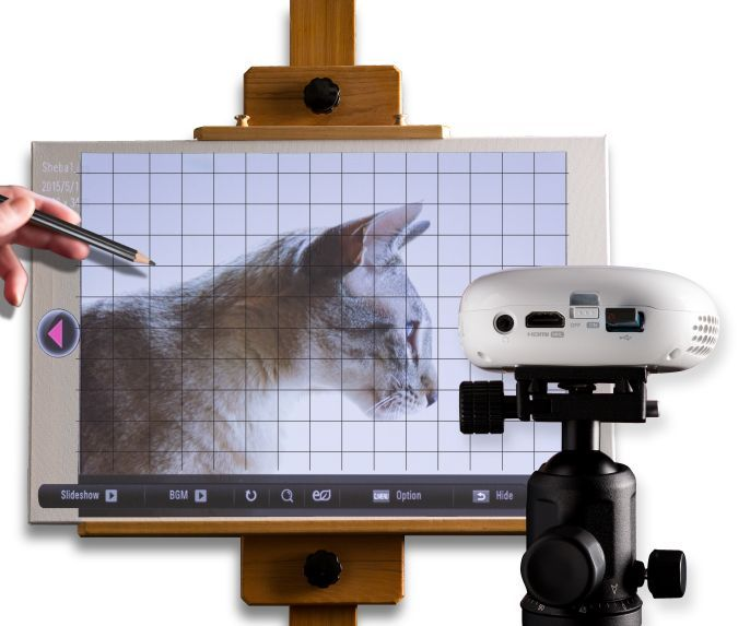 Impression1400 Art Projector