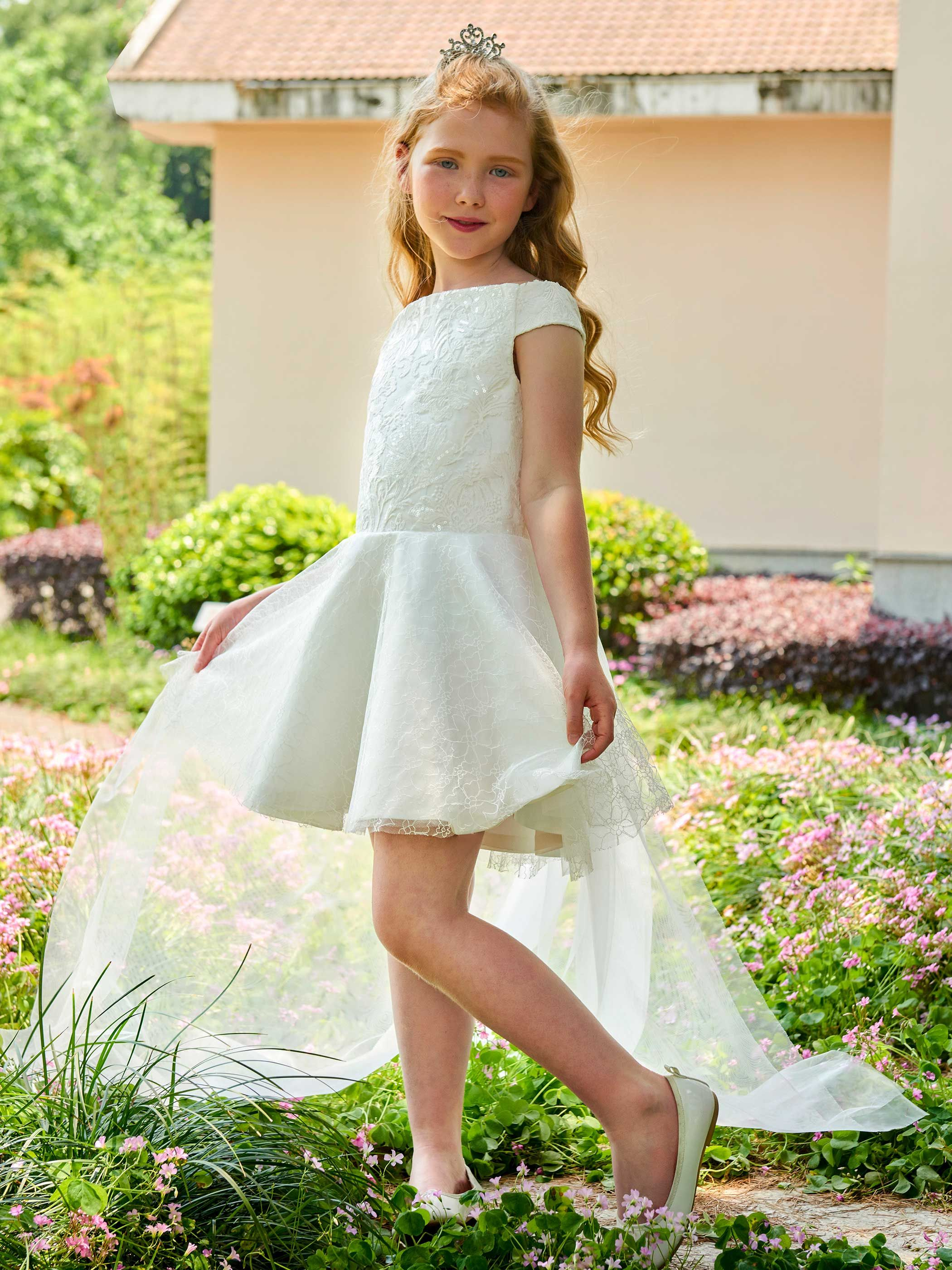 7038359d885 Flower Girl Dresses And Accessories - Gomes Weine AG