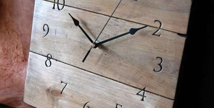 relojes sencillos de pared