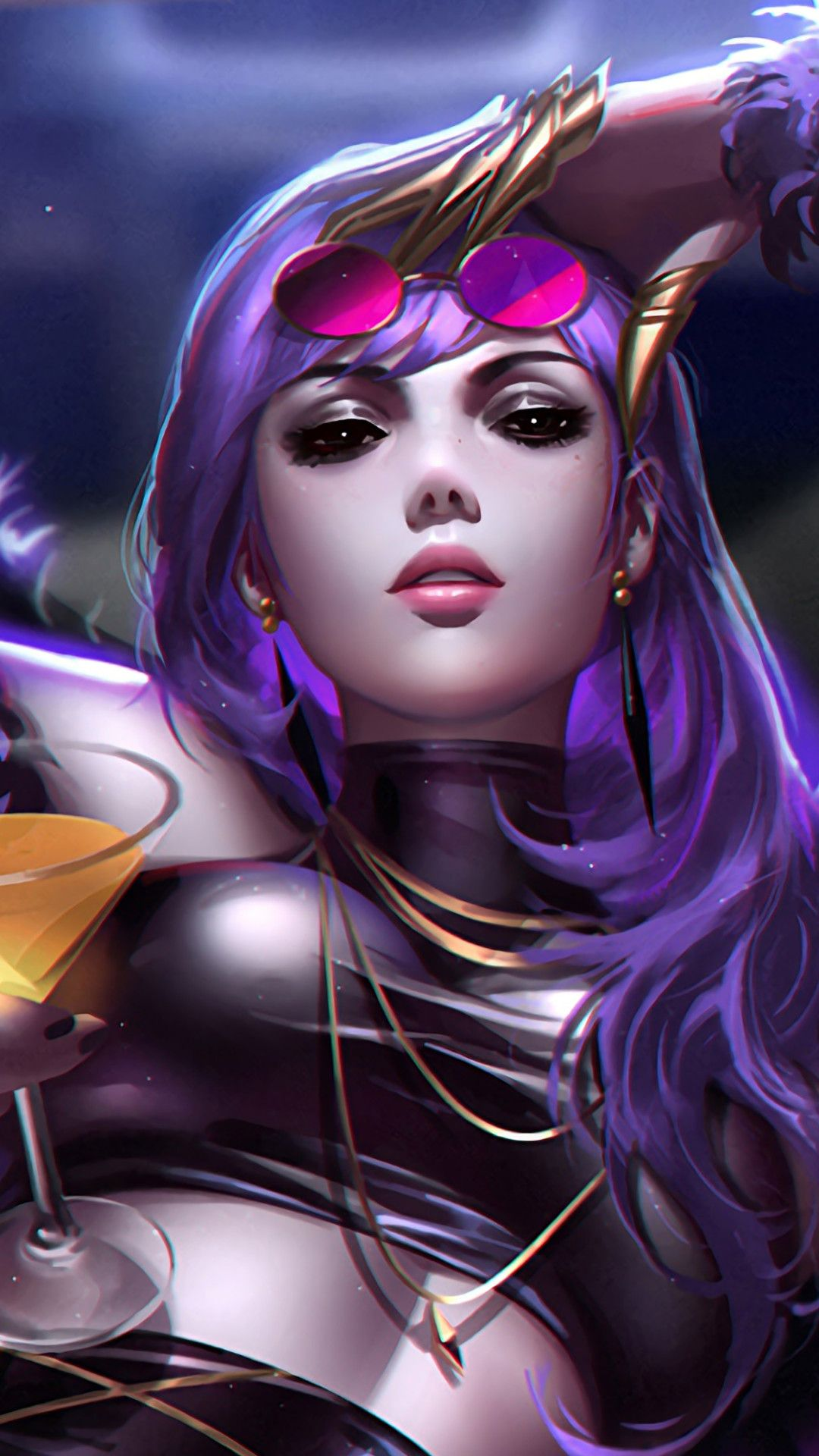 Kda Evelynn Lol Mobile Wallpaper Iphone Android Samsung Pixel Xiaomi Em 2020 Evelynn League Of Legends Papel De Parede Wallpaper Wallpaper
