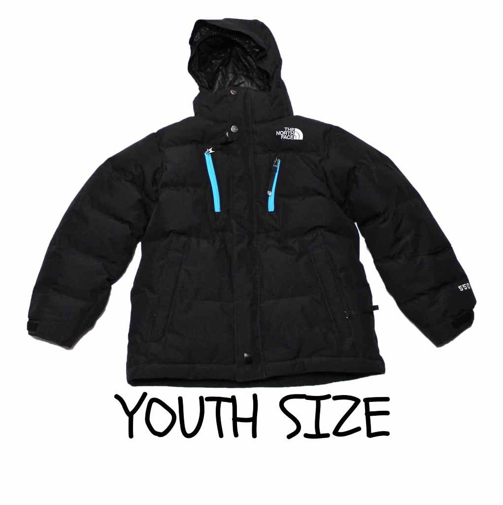 Black North Face 550 Jacket YOUTH Boys Size Medium $40.00 ...