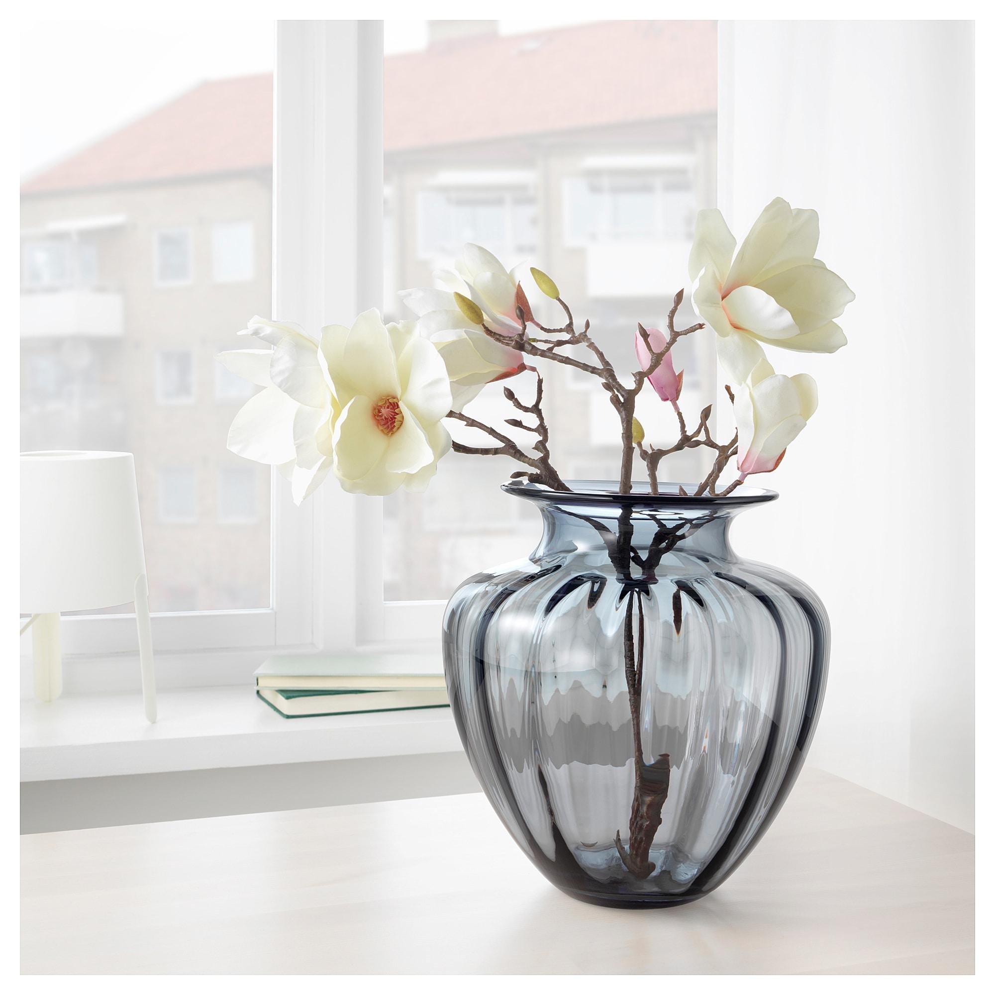 Tonsatta Vase Grau Ikea Osterreich Vase Dekoration Und Ikea