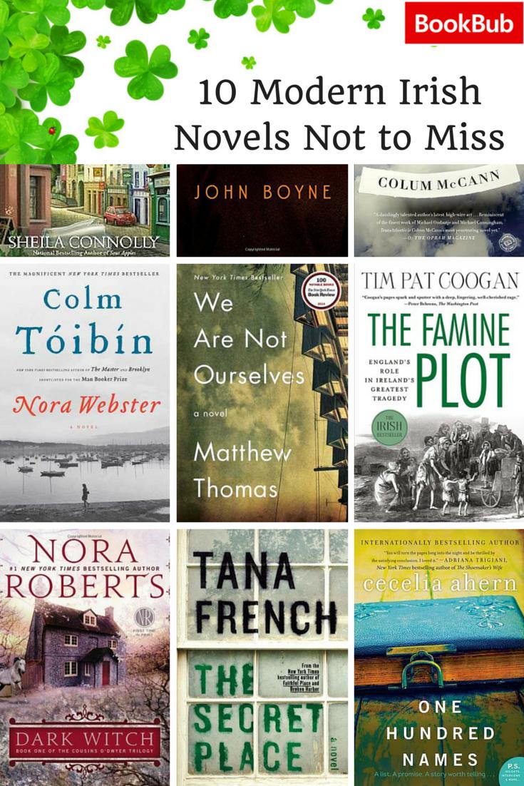 10 Modern Irish Novels You Shouldn T Miss This Saint Patrick S Day Modern Irish Books Book Worth Reading