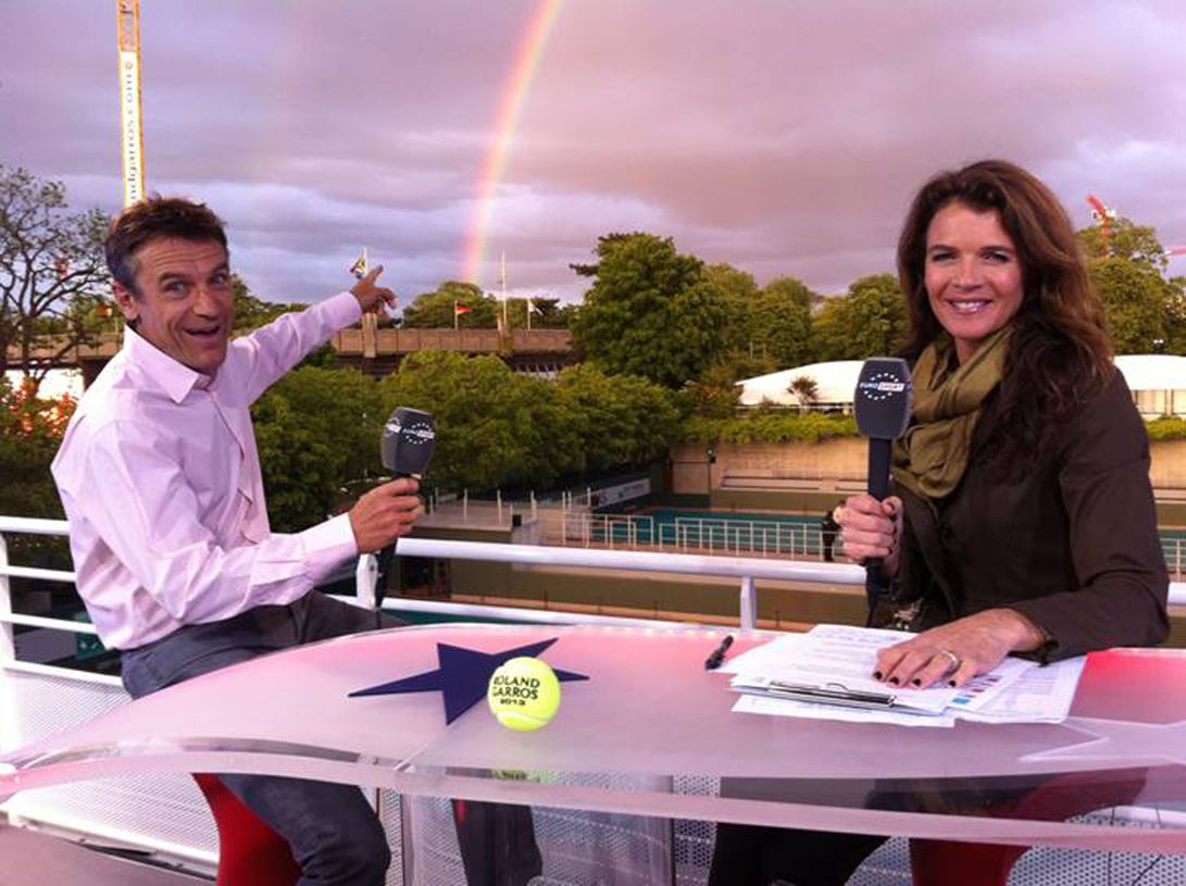 Mats Wilander and Annabel Croft Game Set and Mats