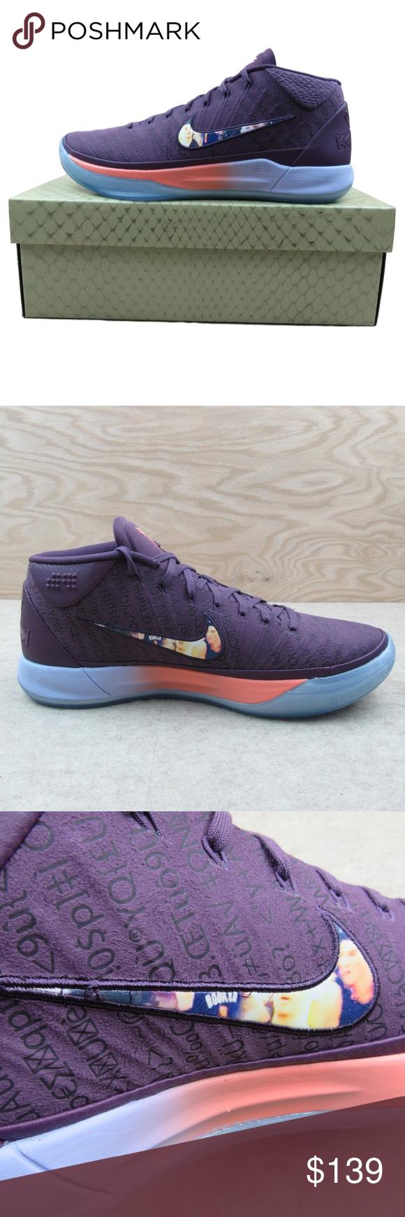 size 40 66a14 82e22 Kobe A.D. Devin Booker PE Size 11 Mens Pro Purple Kobe A.D. ...