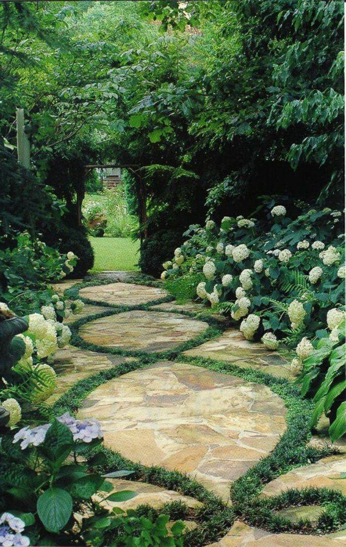 nos propositions en vid os pour faire une all e de jardin jardin. Black Bedroom Furniture Sets. Home Design Ideas
