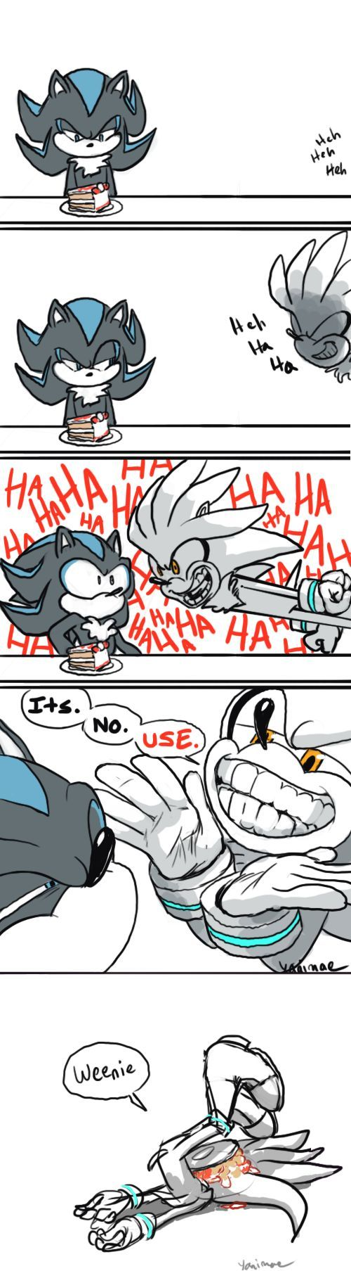Sonic the hedgehog 2006 ( You deserved it Silver...)