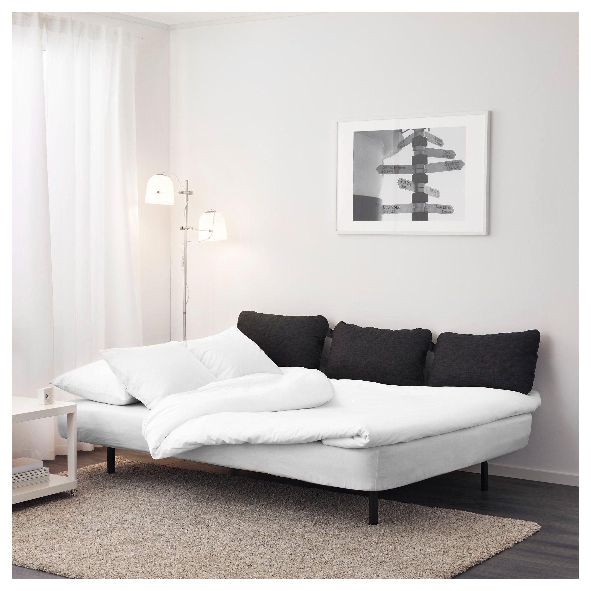 IKEA NYHAMN Futon with pocket spring mattress, Knisa