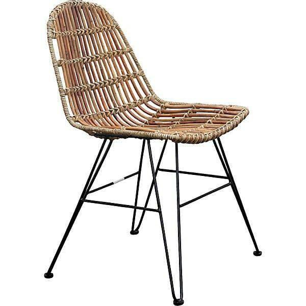 Ideal SIT Rattan Stuhl Vintage im er Set Quelle otto de